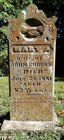 Mary A. <I>Calvert</I> Burrus