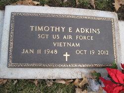Timothy E Adkins
