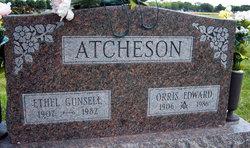 Ethel Mabel <I>Gunsell</I> Atcheson