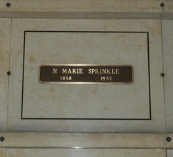 Nancy Marie <I>Becker</I> Sprinkle