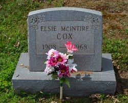 Elsie Virginia <I>McIntire</I> Cox