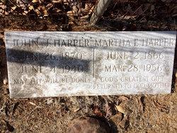 Martha Ella <I>Minor</I> Harper