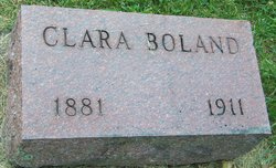 Alice Clara <I>Butler</I> Boland
