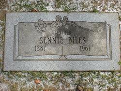 Sennie <I>Cook</I> Biles