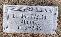 Lillian <I>Baylor</I> Adcock