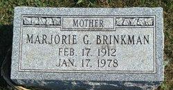 Marjorie G. Brinkman
