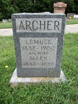 Mary Jane <I>Allen</I> Archer