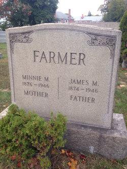 Minnie Mary <I>Myerscough</I> Farmer