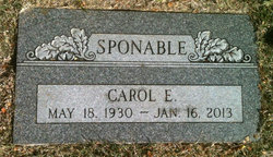 Carol Eileen <I>Evanhoe</I> Sponable