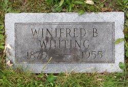 Winnifred Holland <I>Bacon</I> Whiting