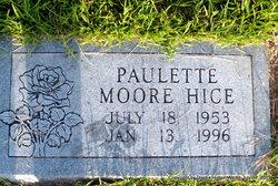 Paulette <I>Moore</I> Hice