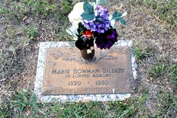 Marie <I>Bowman</I> Bilbrey