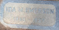 Ida Montana <I>Metcalf</I> Emerson