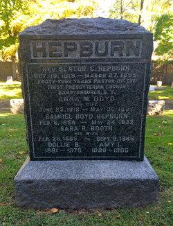Rev Slater C Hepburn