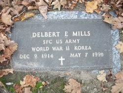 Delbert E Mills