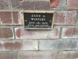 Jane S Wiedlea
