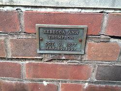 Rebecca Ann Thompson