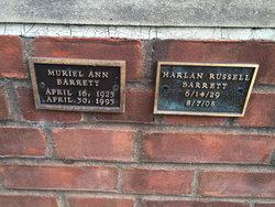 Muriel Ann Barrett