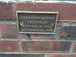 Alexander Ernest Grossman