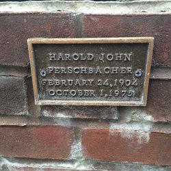 Harold John Perschbacher