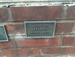Anne G Burrer