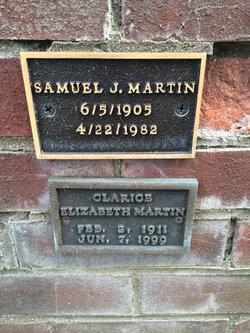 Samuel J Martin