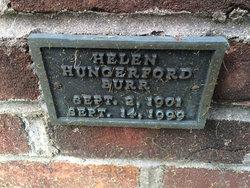 Helen <I>Hungerford</I> Burr