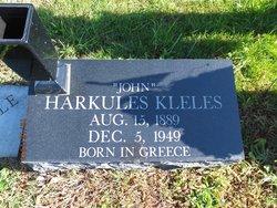 """Harkules """"John"""" Kleles"""