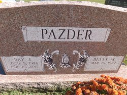 Betty M Pazder