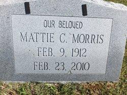 Mattie C Morris