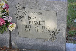 Rosa Bell <I>Thomas</I> Baskett