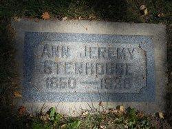 Ann <I>Jeremy</I> Stenhouse