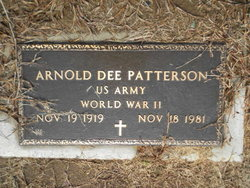Arnold Dee Patterson