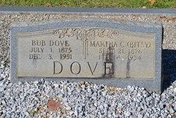 """Martha Cornelia """"Bitsy"""" <I>Allen</I> Dove"""