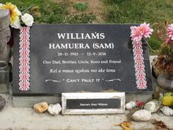 """Hamuera """"Sam"""" Williams"""