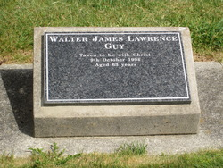 Walter James Lawrence Guy