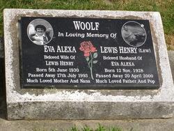"""Lewis Henry """"Lew"""" Woolf"""