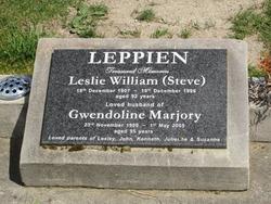 "Leslie William ""Steve"" Leppien"
