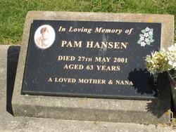 "Pamela Joan Roberta ""Pam"" Hansen"