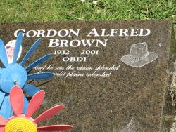 Gordon Alfred Brown