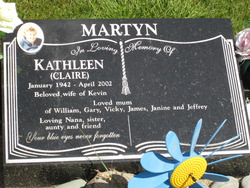 "Kathleen ""Claire"" Martyn"