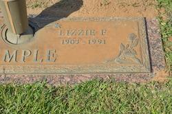 Lizzie F Temple