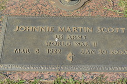 Johnnie Martin Scott