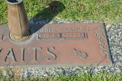 Sibbie Francis Watts
