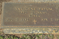 Val Gene Tatum