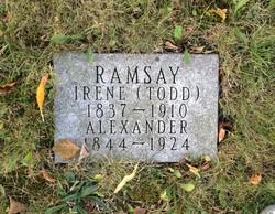 Irene <I>Todd</I> Ramsay