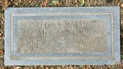 Stephen Martin McGannon