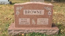Ruth Marie <I>O'Gara</I> Browne
