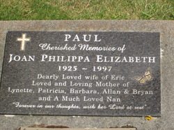 Joan Philippa Elizabeth Paul