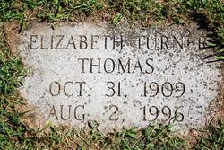 Elizabeth Langhorne <I>Turner</I> Thomas